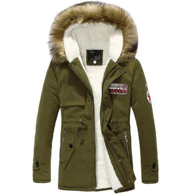 bc88570ba0d Wholesale- LR Hot Sale 2016 New Men s Winter Jacket Men Hooded ...