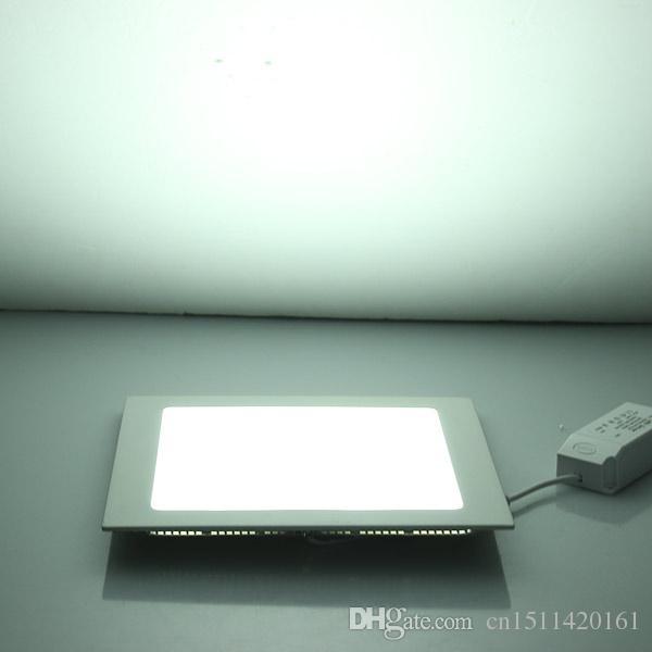 LED Panel Downlight 3W 6W 9W 12W 15W 25W Ceiling Recessed Slim Ultra ...