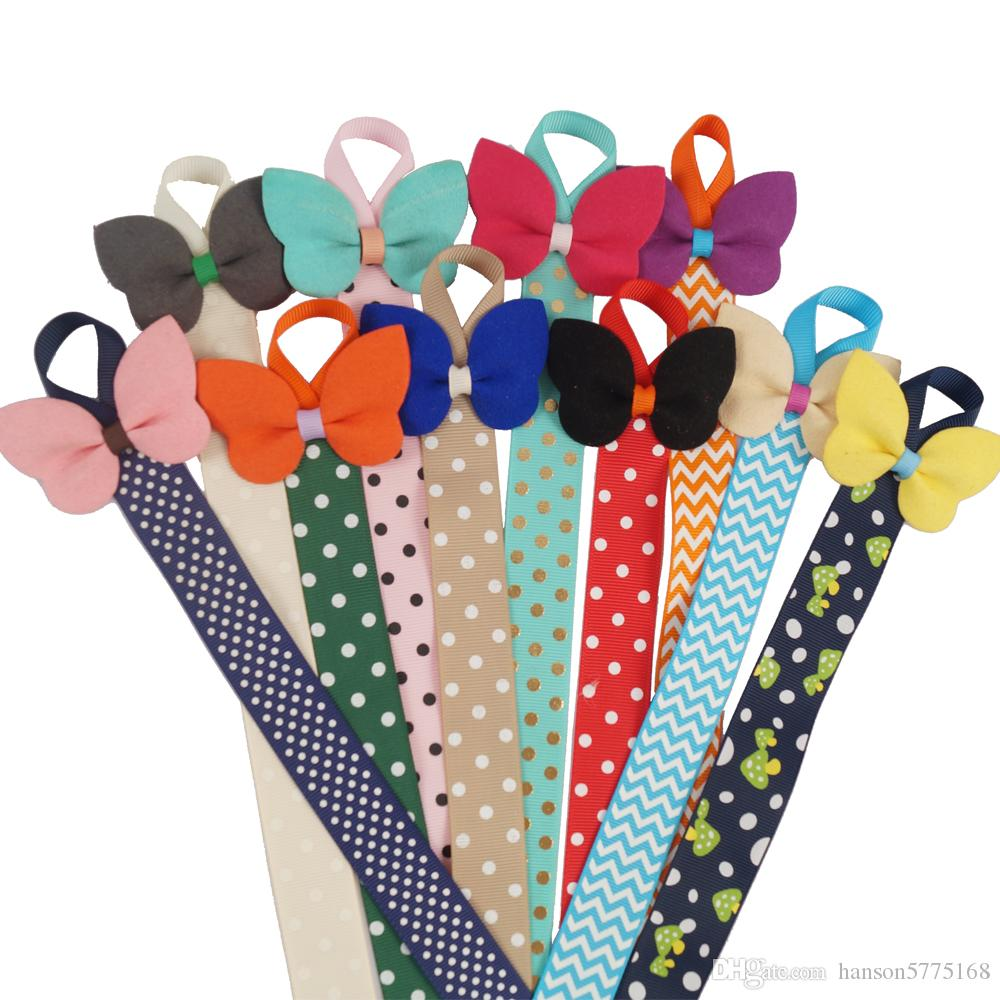 Boutique Bow Holder With Felt Hair Bow For Kid Girl Hair Accessories