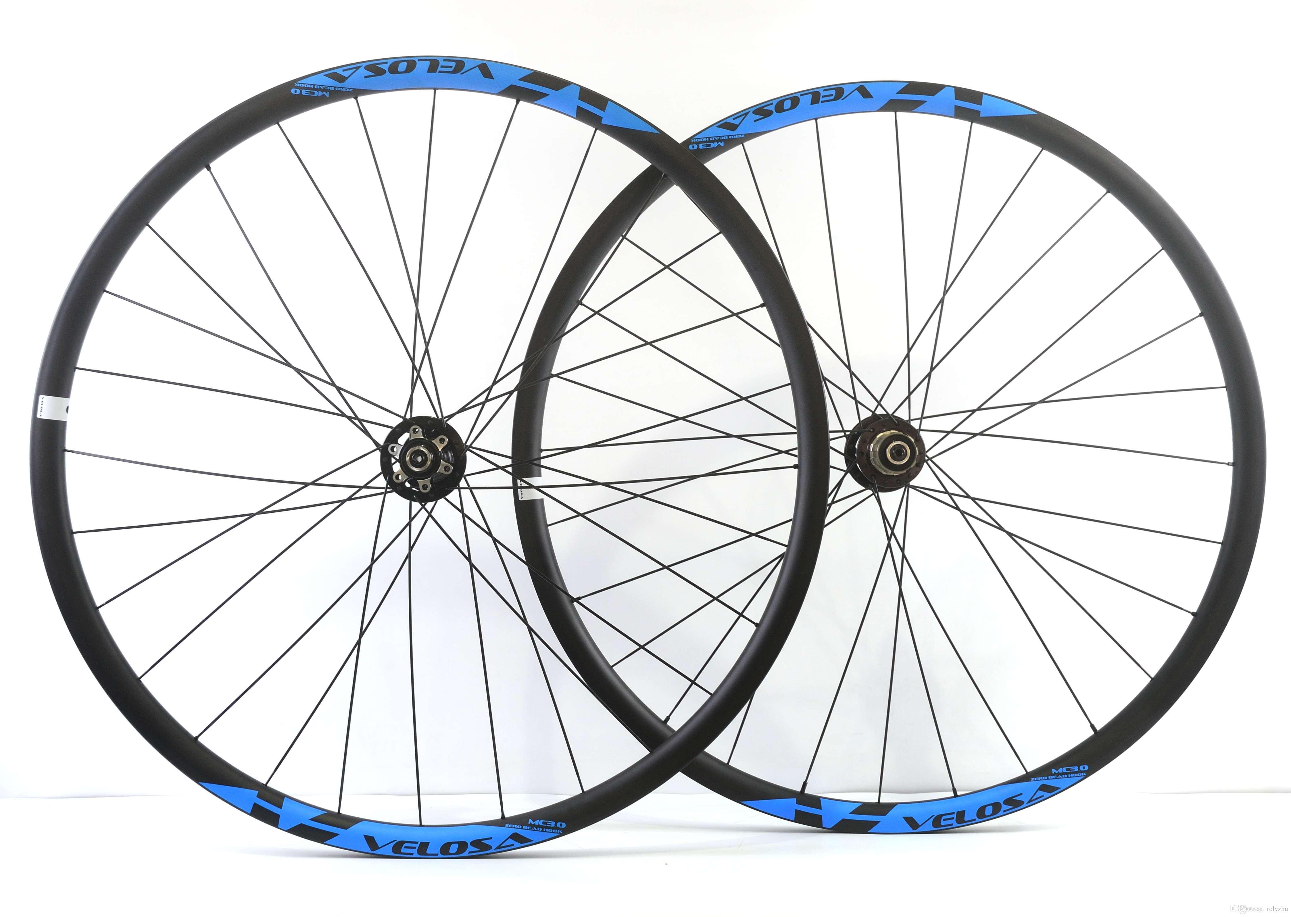 Velosa Carbon Wheels Hookless 29er Mountain Bike Wheels 29inch Mtb