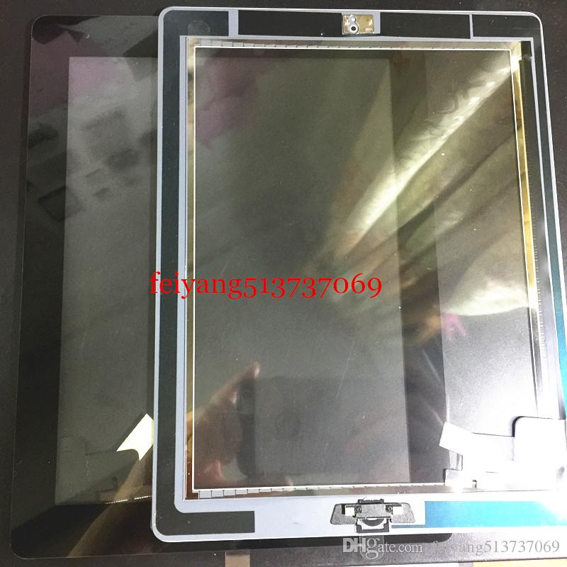 Original or High quality Touch Screen Digitizer Assembly with sticker with Home Button Front glass lens Panel For Ipad 2 3 4 air 5