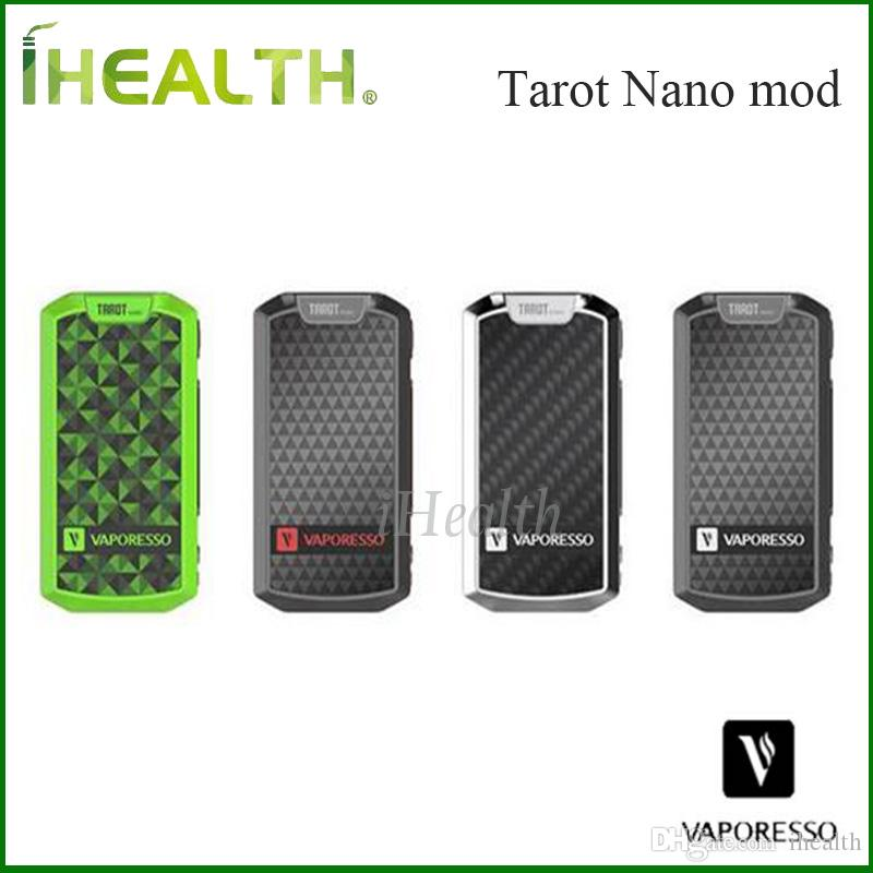 Vaporesso Tarot Nano Box MOD with 80W Power and 2500mAh Battery Tarot Nano TC Box MOD 100% Original
