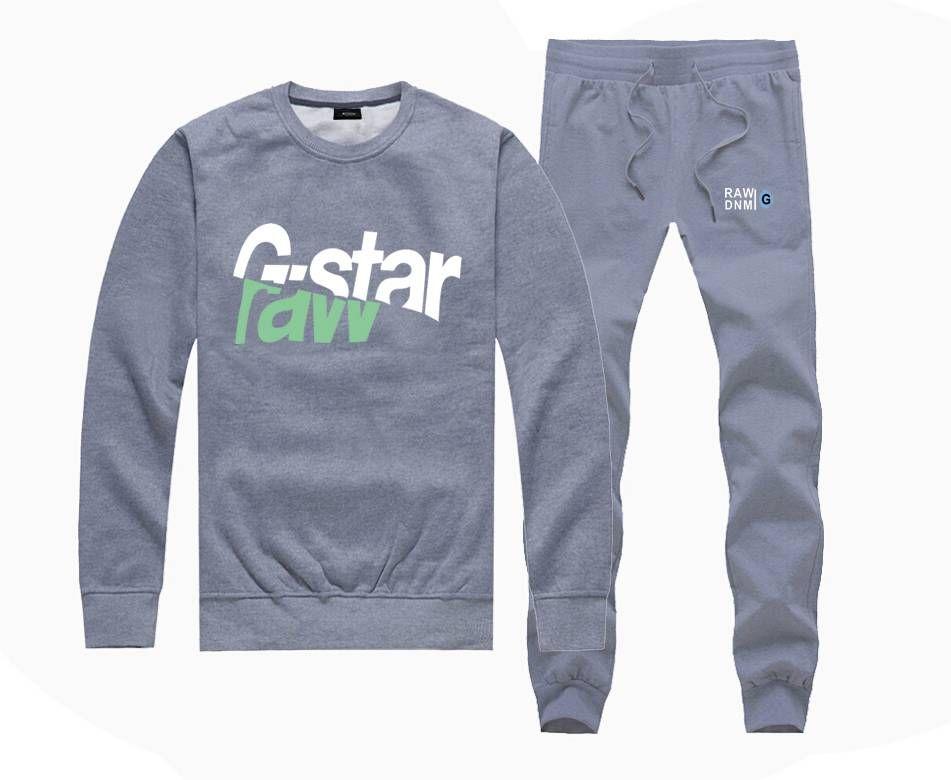 cf1eb43b55 2019 M533967415 Hot Sale G STAR Sweatshirts +PANTS Suit For Men And Women  Fleece Lined Hip Hop Skateboard Crewneck Hoodies S 4XL From Long1976
