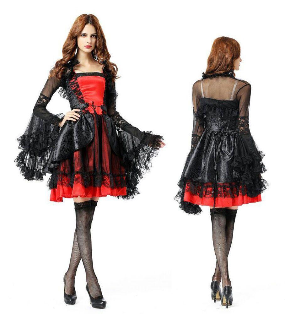 Compre Adulto Sexy Halloween Zombie Frozen Novia Queen Princess Party Fancy  Dress Cosplay Disfraz PS8890 Talla Única S L A  33.4 Del Jeekwang  97cde7e9a57a