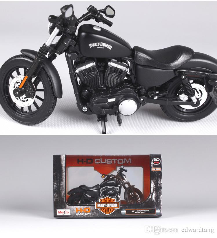 New Alloy Famous Motorcycle Model, Luxury Cassic Boy Toy, 1:12 Scale, High Simulation, Kid' Party Birthday Gift, Collecting, Home Decoration