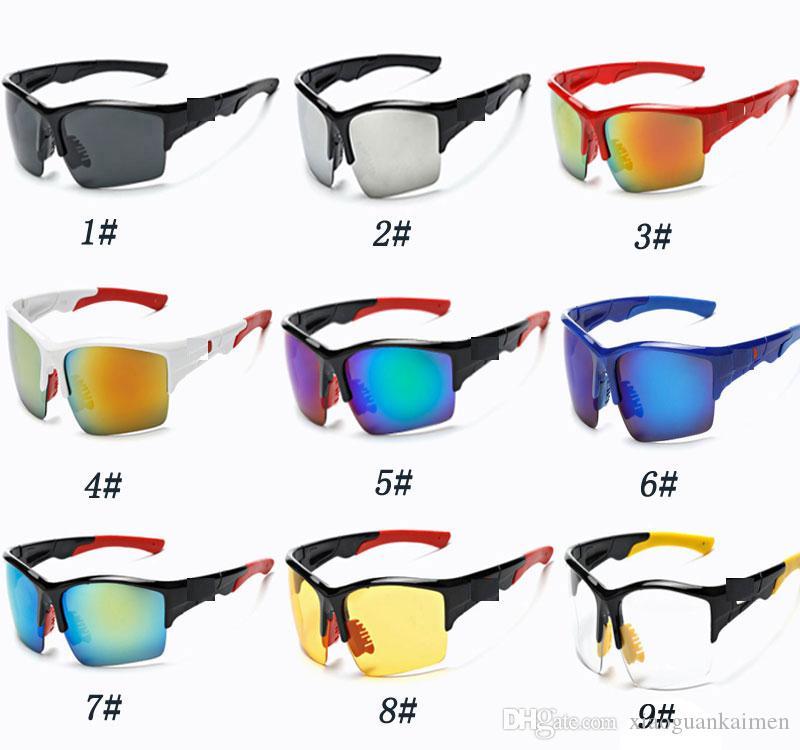 9a43757b43 Compre El Más Nuevo Deporte Montando Gafas De Sol De Los Hombres De Moda Al  Aire Libre Ciclismo Gafas Para Ciclismo Conducción Pesca Golf Visión  Nocturna ...
