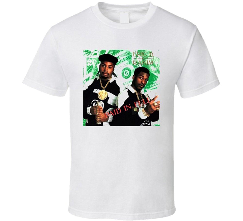 Compre Venta Caliente Erik B Y Rakim Paid In Full Hip Hop Camiseta Camiseta  De Los Hombres De La Personalidad A  11.56 Del Beidhgate04  3f6fedd4502