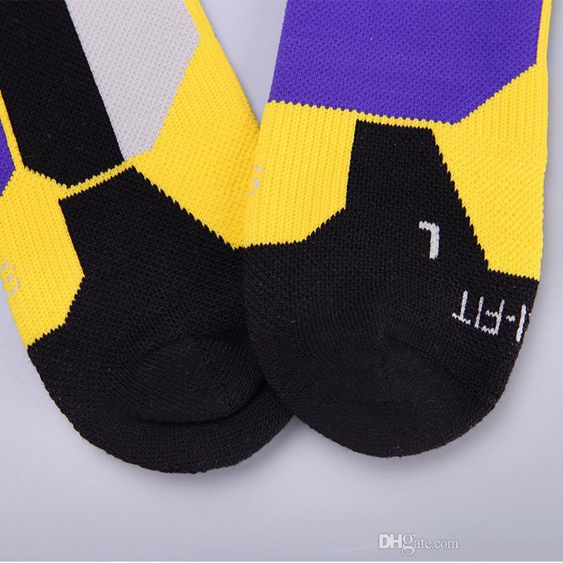 Chaussettes de basket Elite pour hommes et femmes. Chaussettes de sport désodorisantes à absorption de transpiration pour l'hiver.