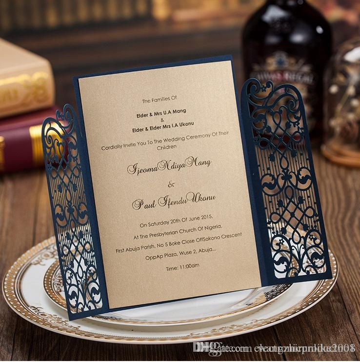 Cheap dark royal blue laser cut wedding invitations cards hollow cheap dark royal blue laser cut wedding invitations cards hollow personalized engagement invitation card with envelope and inserts dhl free dark blue filmwisefo