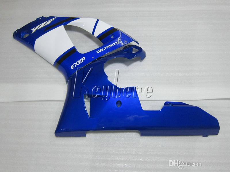 Kit carénage pour yamaha YZF R1 1998 1999 kit carénages moto noir bleu YZF R1 98 99 IY01
