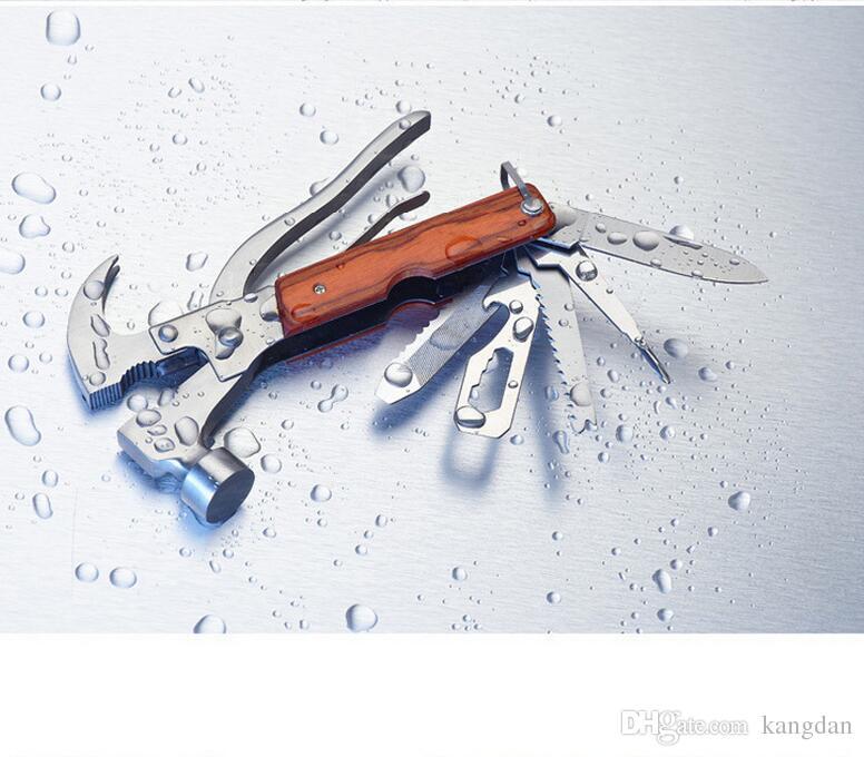 Attrezzo di taglio di emergenza di campeggio esterna auto martello di sicurezza di emergenza auto 16 in1 strumenti di salvataggio di sicurezza pinza di cacciavite mini Ascia sega set