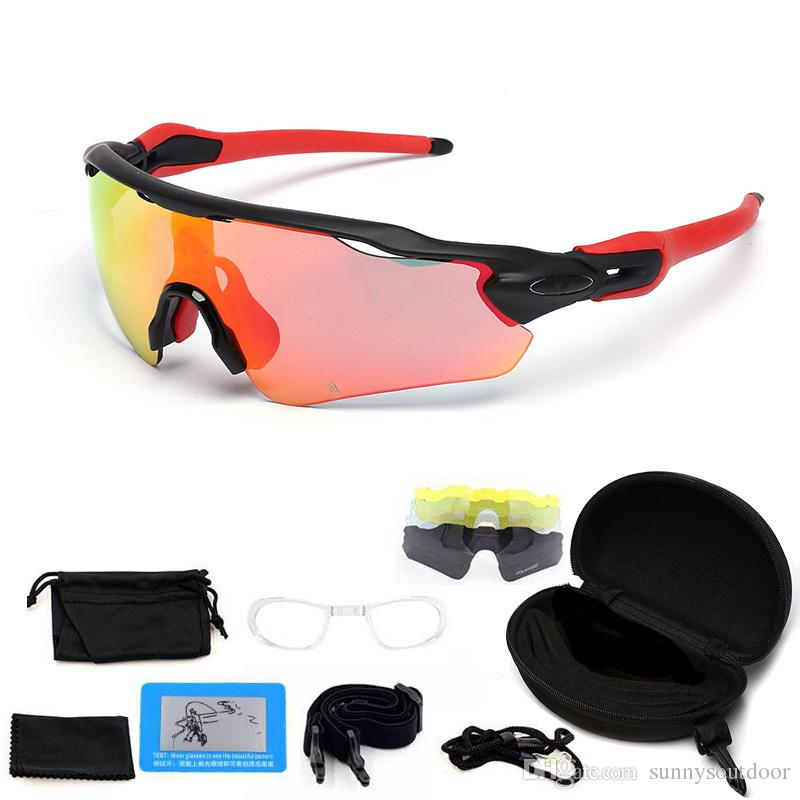 03b77027181 Outdoor Sports Fashion Fishing Sunglasses Cool Glasses Five Lens Changeable  Glasses Polarized Fashion Cycling Sports Sunglass Cycling Glasses Fashion  ...