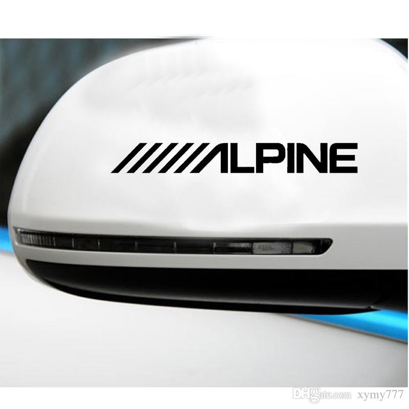 Cool graphics Alpine Car Speakers Stereo Creative Car Styling Amplifier Sounds Vinyl Decal Sticker Car Accessories Graphics jdm