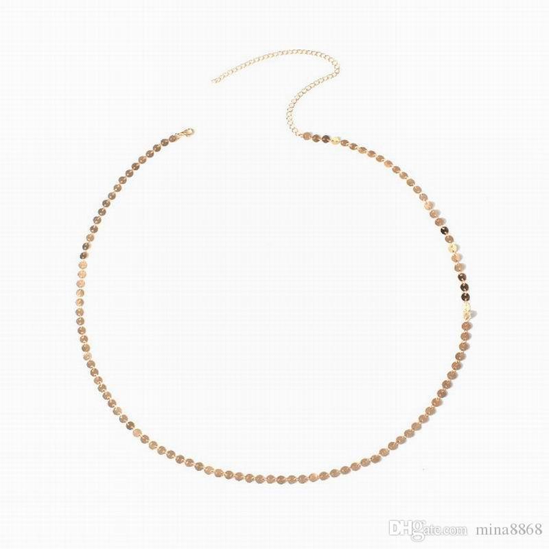 FASHION جديدة المبيعات الساخنة الشاطئ الصيف المجوهرات الترتر سلسلة بطن المرأة هيئة سلسلة بطن المجوهرات الصيف الشاطئ مثير سلسلة الجسم الخصر بيجو