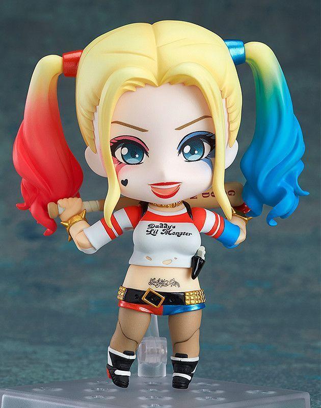 Satin Al Popotoyfirm Nendoroid Anime S Versiyonu Harley Quinn   Cm Pvc Action Figure Oyuncak Bebek Modeli Intihar Kadro Cocuklar Icin Hediye