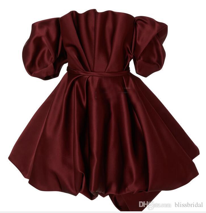 Zwei Stücke formale Abendkleid aus der Schulter Bubble Peplum Top und lange Tüll Schichten Rock schnelle Lieferung Ballkleid Prom Kleider