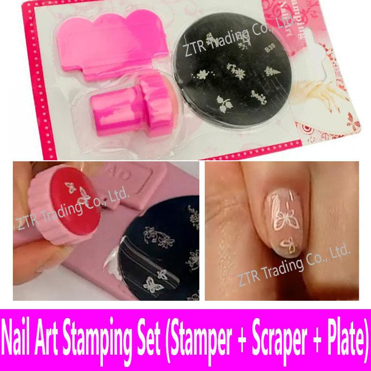 Wholesale Stamping Template Nail Art Tools Stamping Plate Stamper ...