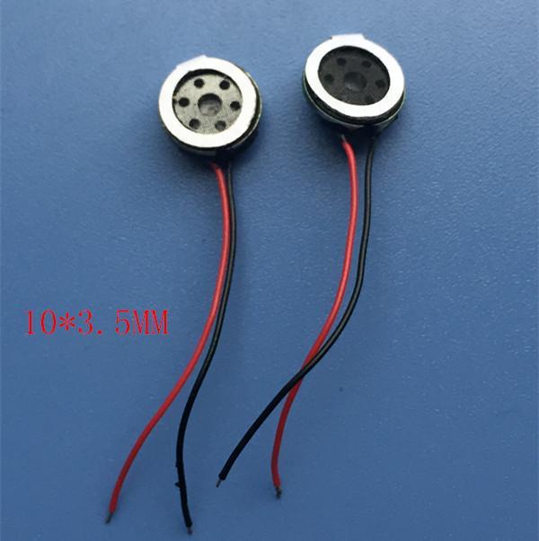 Wholesale- 10 * 4mm Wire Diameter 10mm Ultra-compact Speaker ...