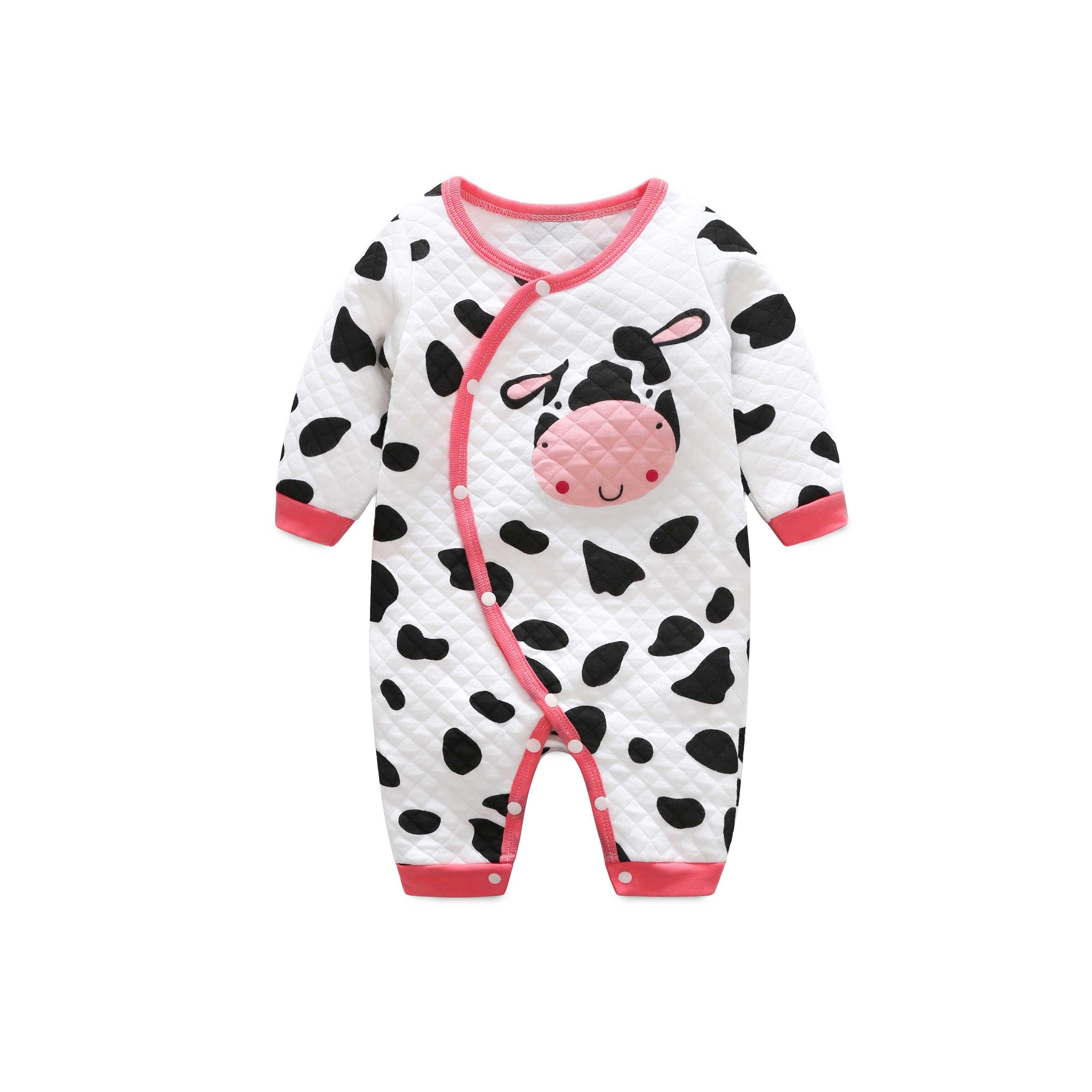 Online Cheap Colorful Cotton Baby Pajamas Cartoon Boys Girls Night