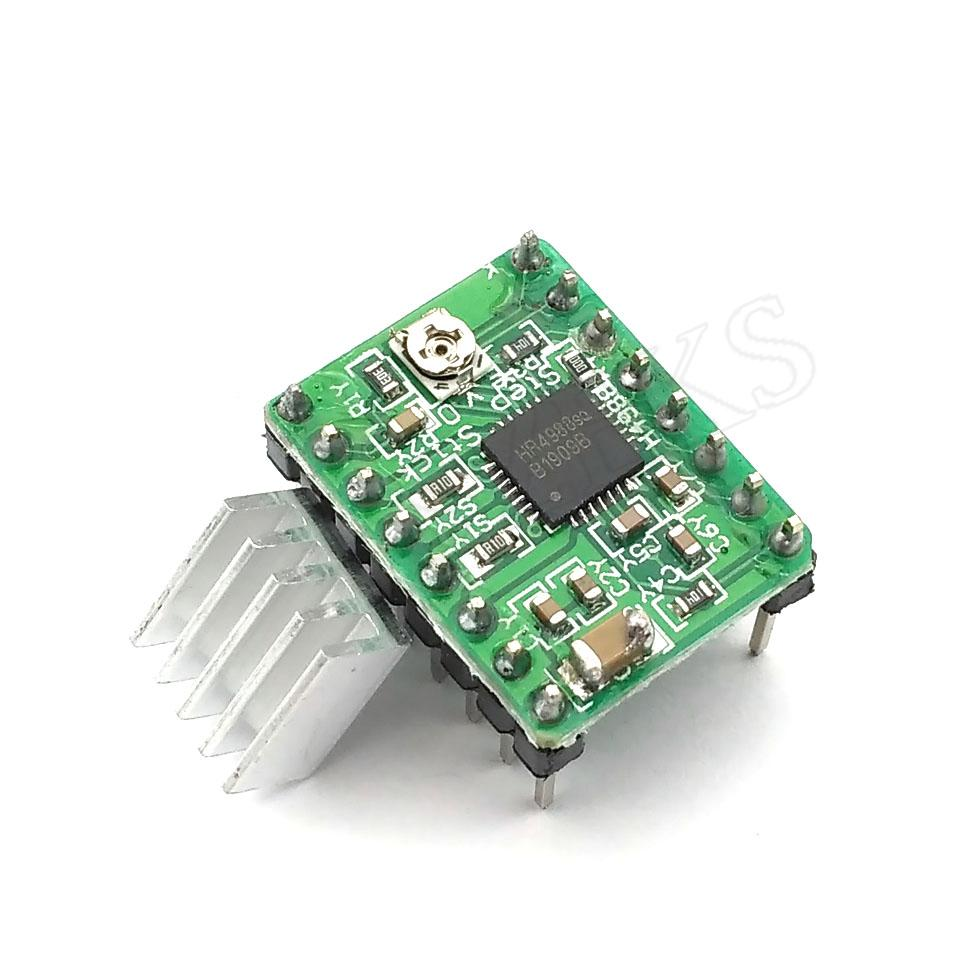 Reprap Stepper Driver A4988 Motor Module Dropshipping Motors Using This Circuit In Full Step Mode Through The Rs232 Colorgreen Online With 103 Piece On