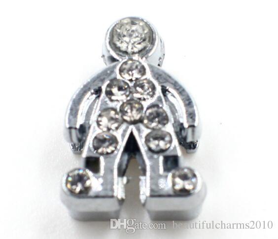 100 teile / los 8mm strass jungen diacharme Fit für 8mm diy armband halskette armband als geschenk