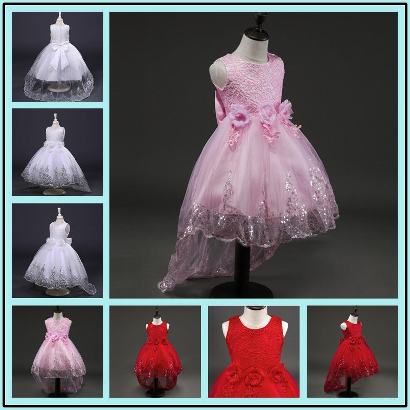 950d32bc7c Flower Dress Summer Clothes 2017 Baby Wedding Veil Dresses Kids S Party Wear  Costume For Girl Children Clothing Dress Shoes For Girls Flower Girl Dress  For ...