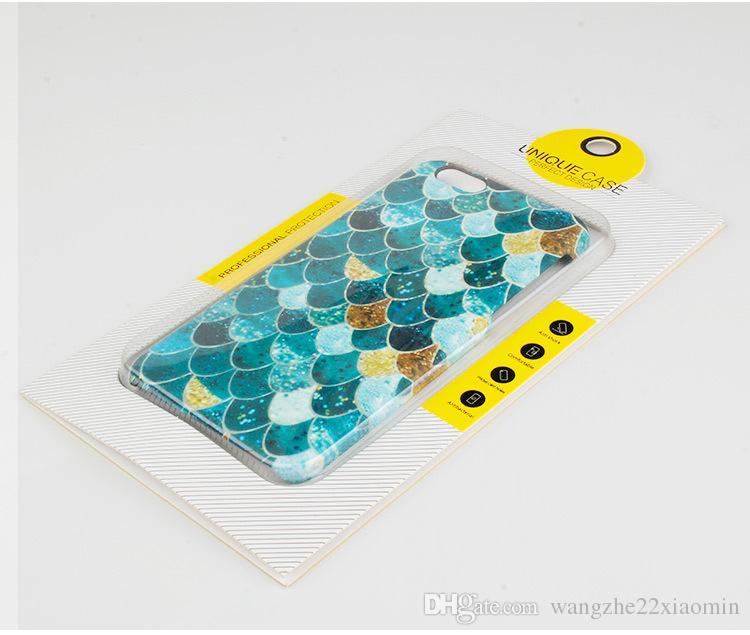 Vente en gros universelle Pesonalize Design étanche à la poussière Design parfait Téléphone Design Packaging pour iphone 7 7plus avec blister fenêtre PVC