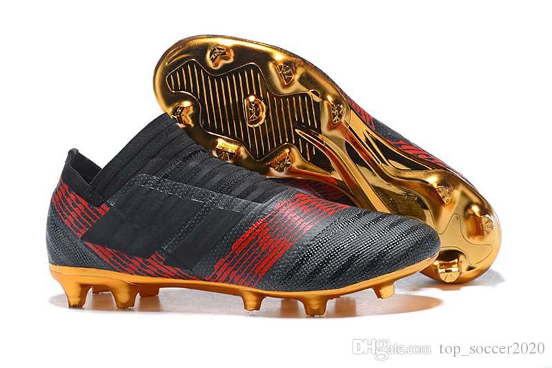 1 17 FG Nemeziz Chaussures Messi De Vente Chaude Acheter Football SqRIXI