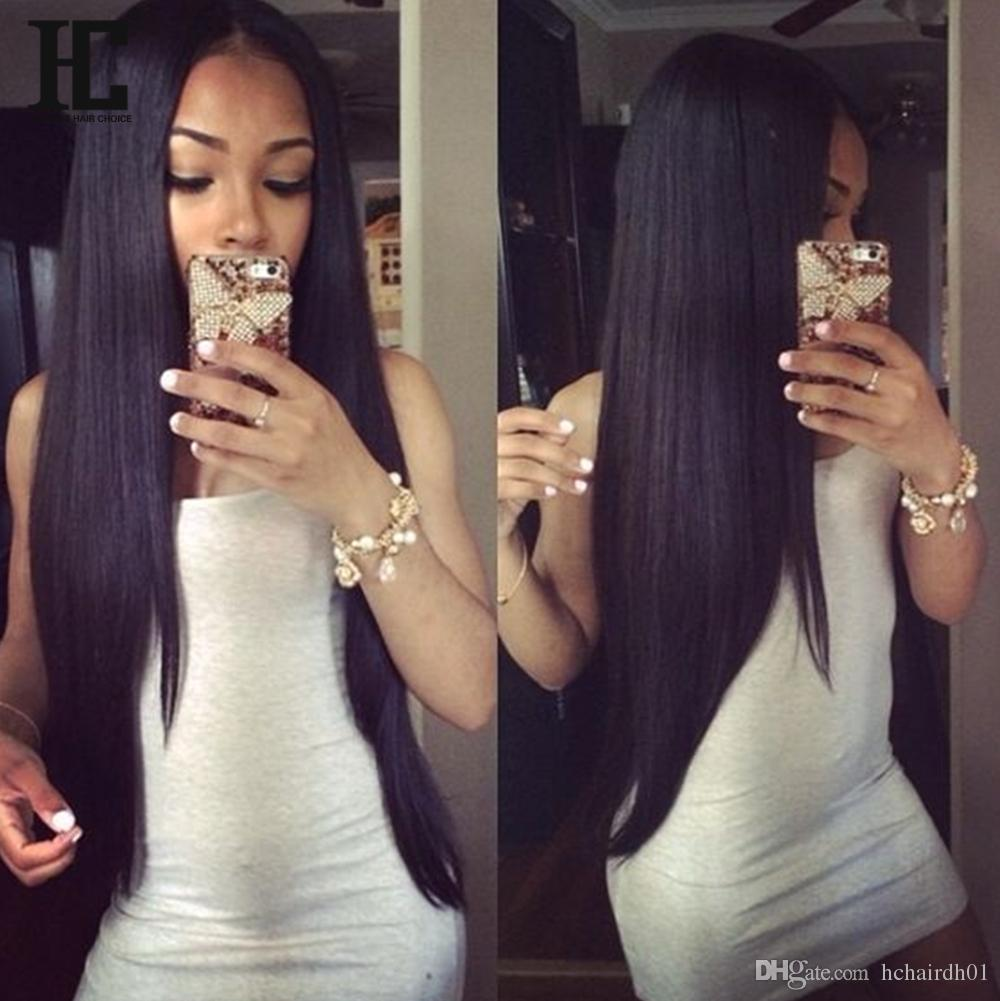 10A Grade Brazilian Human Hair wigs for black women Silk Straight Human Hair Lace Front Wigs 10-22 inch Human Hair Wigs for Black Women