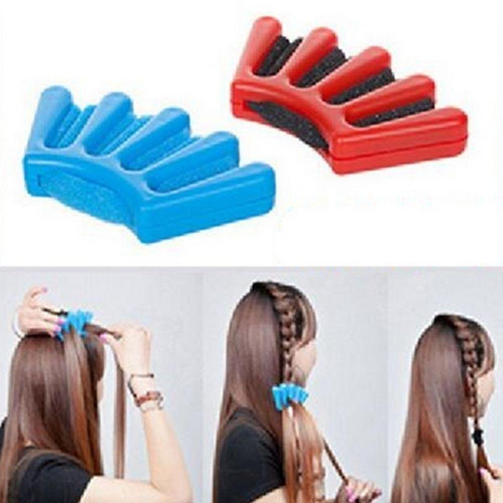 Moda fai da te donne meraviglia spugna capelli braider torsione styling treccia portautensili capelli strumenti lo styling accessori capelli