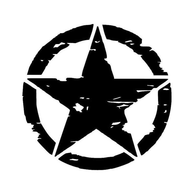 Heißer Verkauf Army Star Grafik Aufkleber Motorrad Auto Aufkleber Vinyl Grafiken Aufkleber Auto Styling Dekorative Jdm