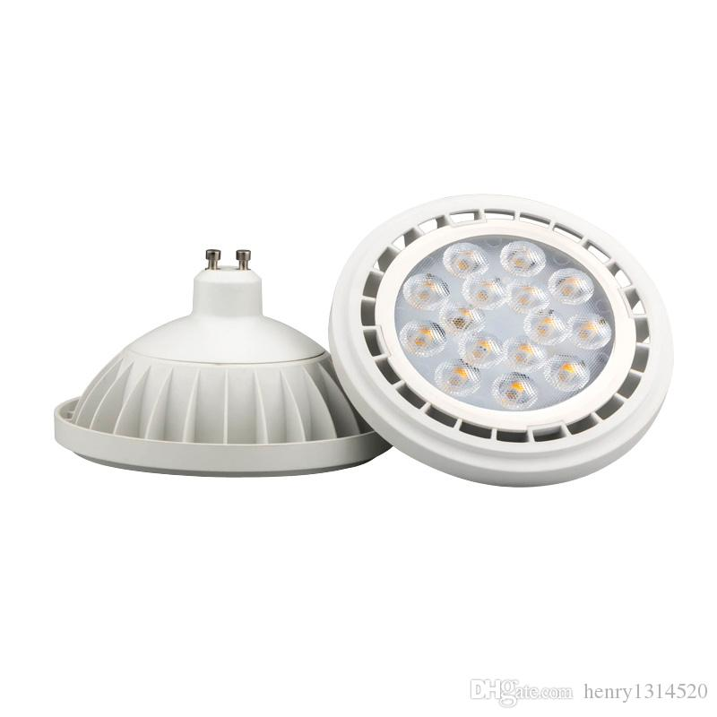 New Arrival AR111 GU10 LED Lamp 12W Input Cob Spotlight Warm White ...