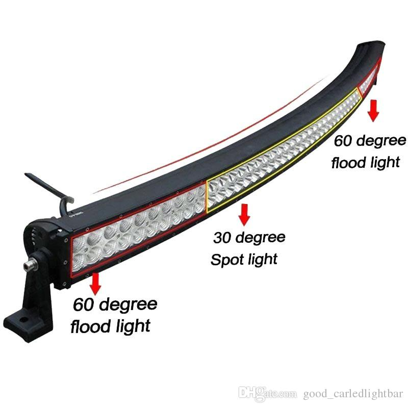 52 inch 400w curved led light bar working fog roof lamp flood spot 52 inch 400w curved led light bar working fog roof lamp flood spot combo for off road 4x4 utv 4wd boat suv truck jeep ford trailer camper led off road light aloadofball Gallery