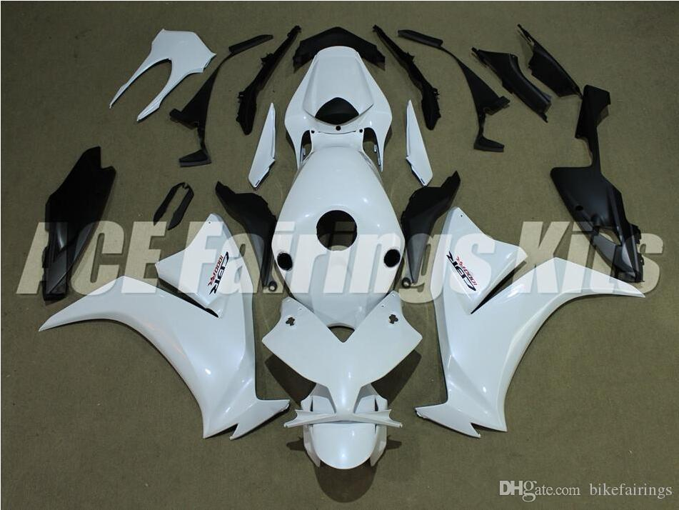 Three free beautiful gift and new high quality ABS fairing plates for HONDA CBR1000RR 2012-2016 good nice body set white and black