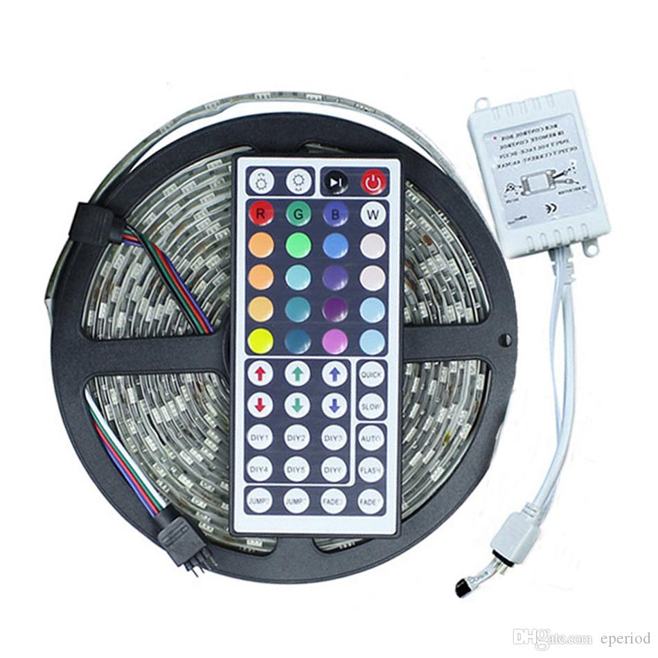 5m rgb led light strip kit 5050 smd 300 leds waterproof led flexible 5m rgb led light strip kit 5050 smd 300 leds waterproof led flexible light with ir remote controller ce rohs christmas lights 5050 led strip set led strip aloadofball