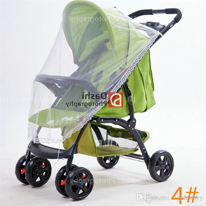 summer children baby stroller pushchair coloful mosquito net netting accessories curtain carriage cart cover insect care