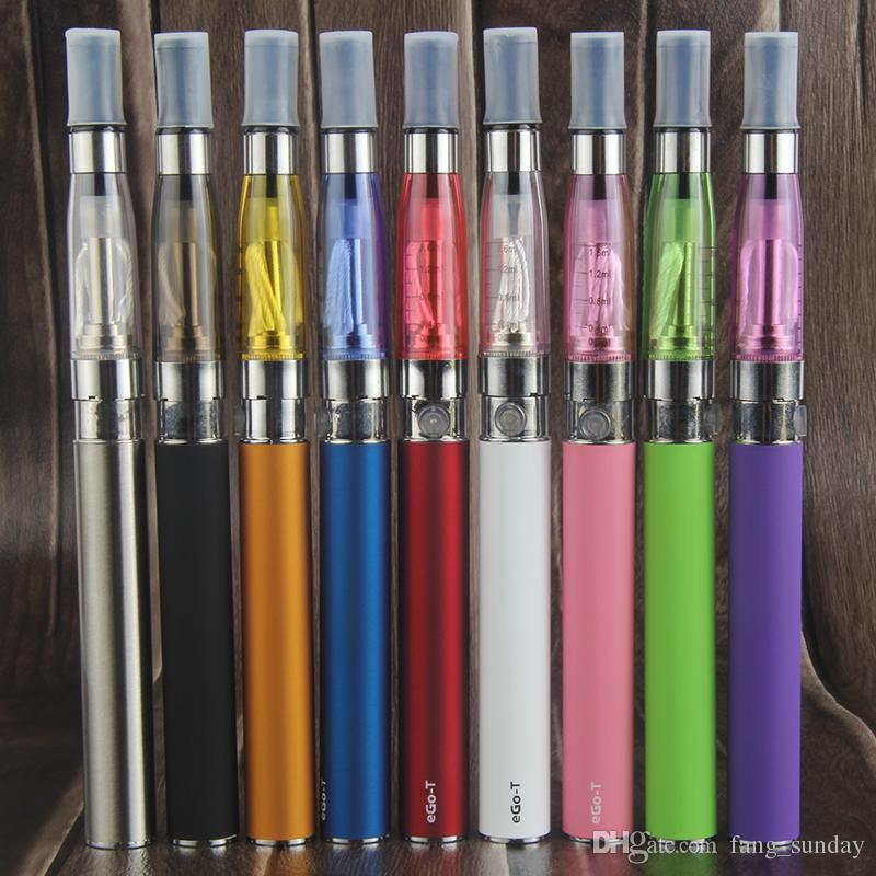 Vaper eGo T CE4 Vape Pen Single Starter Kit Blister Pack 650 900 1100mAh E Cigarette Vapes Battery CE4 Atomizer Clearomizer Vaporizer Tank