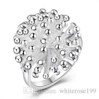 Großverkauf - Niedrigster Preis des Kleinhandels Weihnachtsgeschenk, freies Verschiffen, neuer 925 silberner Art und Weise Ring R001