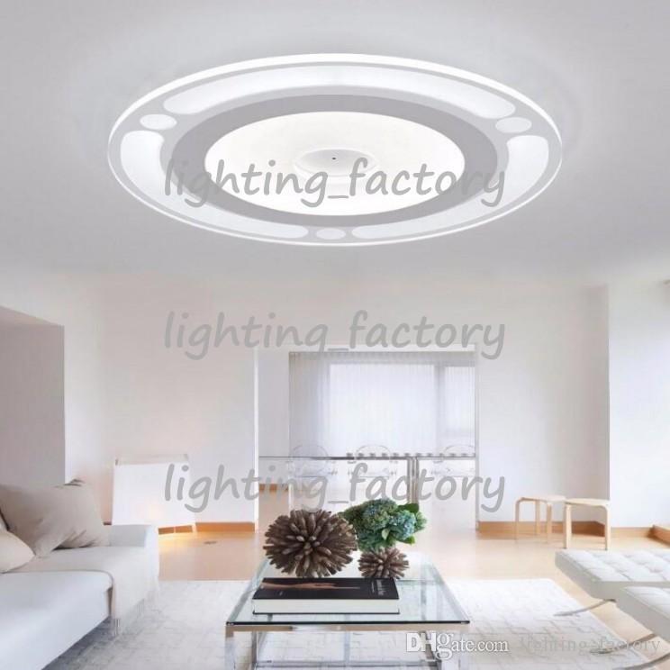 Neue moderne led deckenleuchte wohnzimmer lichter acryl dekorative lampenschirm küchenlampe lamparas de techo moderne lampen