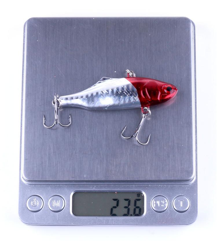 New 3D Eyes VIB fishing lure 7cm 24g Colorful Hard Body Deep Diving Artificial Bait