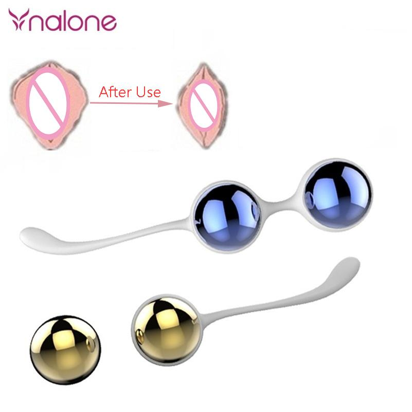 Nalone Metal Vaginal Love Kegel Balls For Women Ben Wa Balls Shrink Vaginal Kegel Muscle Exerciser For Female Sex Toys Products Egg Love I Love Egg Song