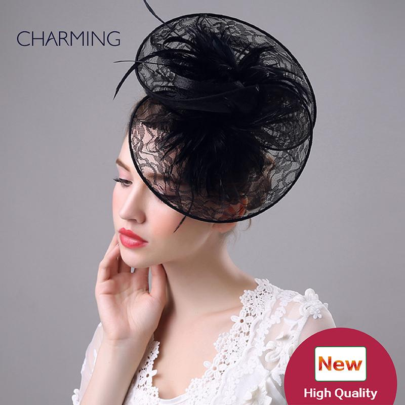 fe1e9e84f9dee Occasion Hats Wedding Designer Hats For Weddings Wedding Hats Feathers  Beautiful Wedding Hats Wedding Hat Styles Canada 2019 From Changminhu
