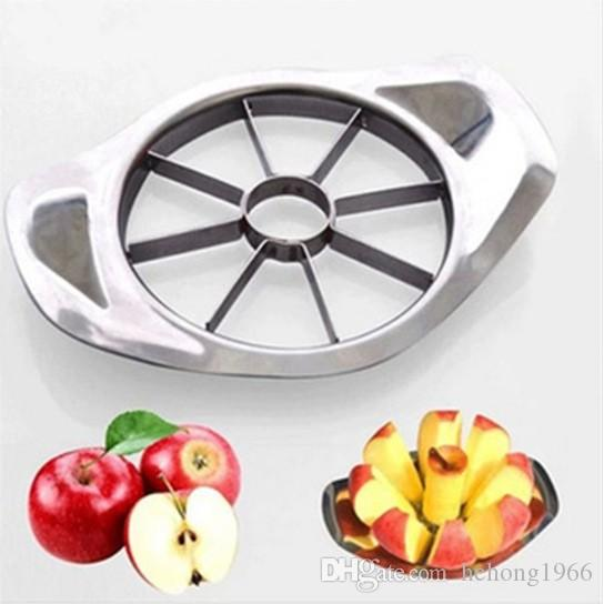Acciaio inossidabile Corer affettatrice Distruttore di taglio taglierina di Apple Go Fruit nucleare Coltello Cutters Frutta Splitter frutto Generator coltelli 2 7RR R