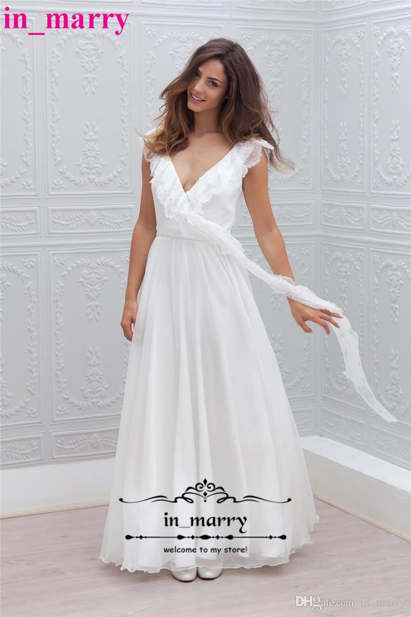 Schön Einfache Erschwingliche Brautkleider Zeitgenössisch ...
