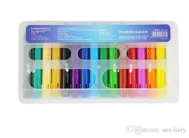 Baby Kids Face Body Painting Crayon Kit Set Sticks Party Wedding Kids Child Drawing Toys Gift Face Painting Pencils Face Deco