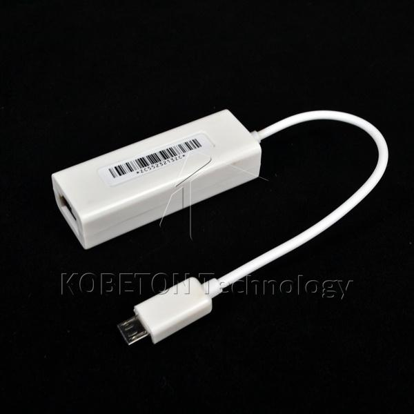 Wholesale New Micro Usb 2.0 To 10/100mb Rj45 Usb Lan Adapter Wired ...