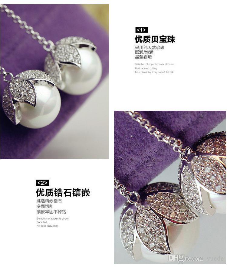 بيع الأزياء والمجوهرات الجديدة 925 الفضة إبرة المثلث أقراط صالح باندورا الإناث الكريستال من سواروفسكي بسيط