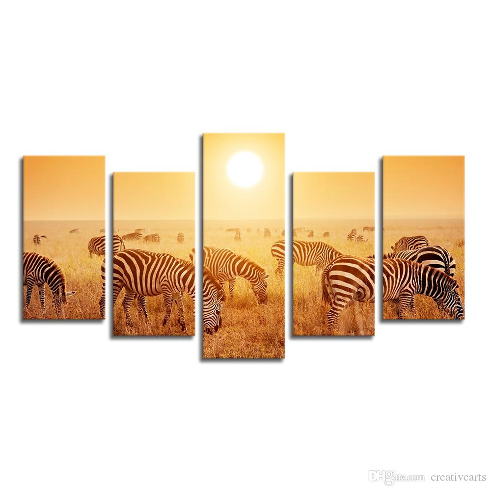 2018 Nature Wildlife Canvas Art Print Home Wall Decoration Canvas ...