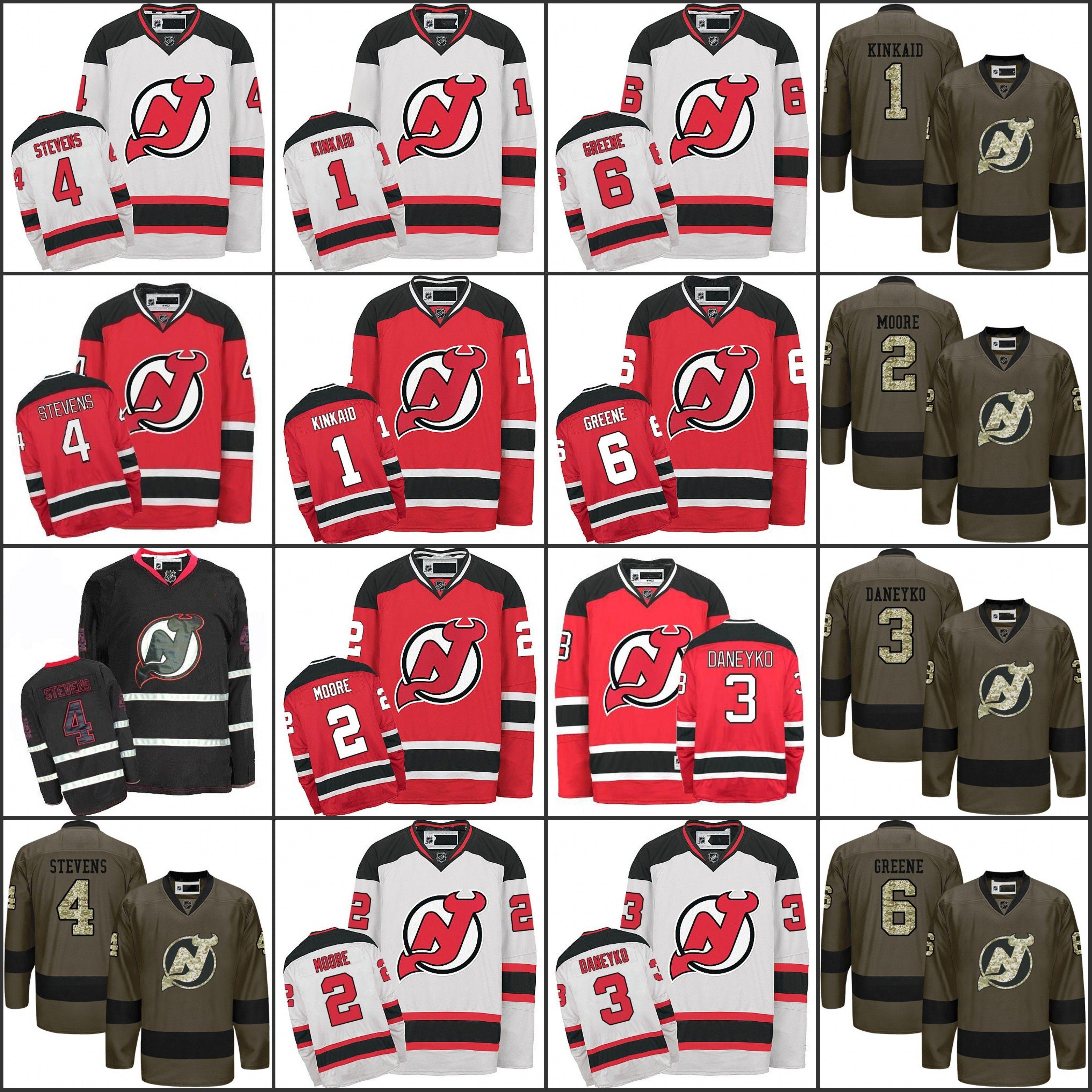 ... coupon code best 2017 mens new jersey devils 1 keith kinkaid 2 john  moore 3 ken ... 54845f376