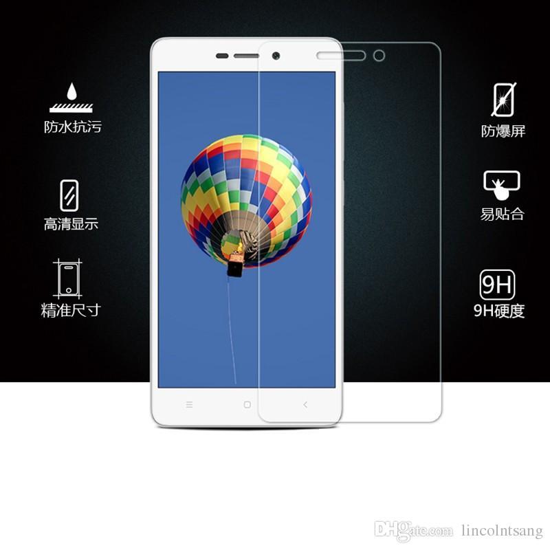 En Kaliteli HD Premium Temperli Cam Xiaomi 2/4/4C / REDmi / Redmi 2 / Redmi3 / Redmi notu / Redmi notu2 / Ekran Filmi 200 adet / grup